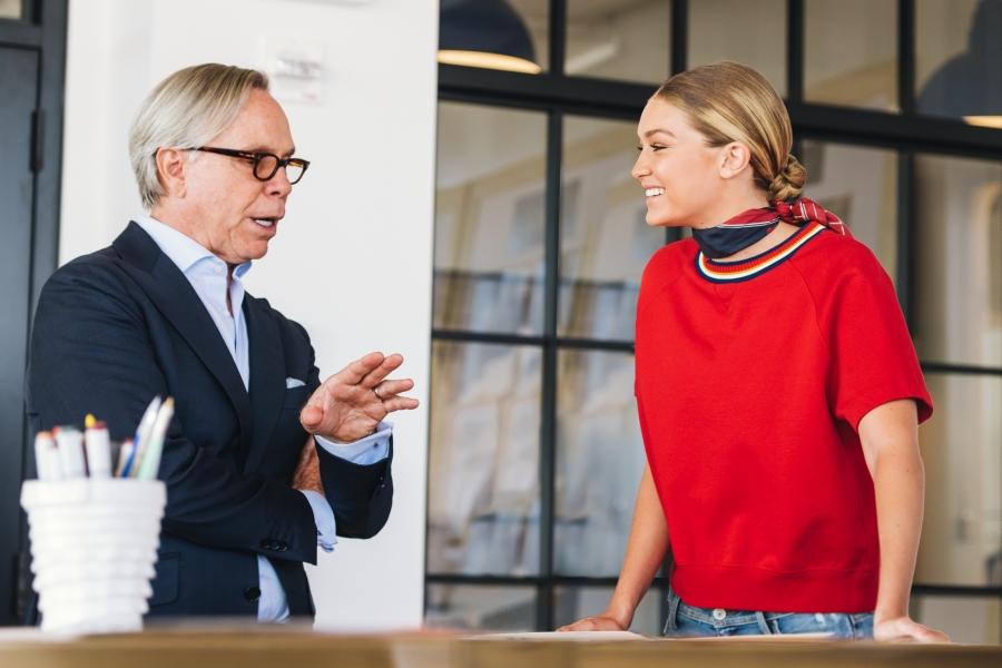 Ο Tommy Hilfiger και η Gigi Hadid παρουσιάζουν την νέα συλλογή του οίκου μόδας