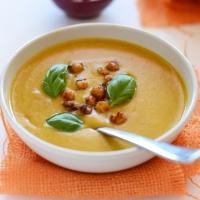 Σούπα με γάλα καρύδας