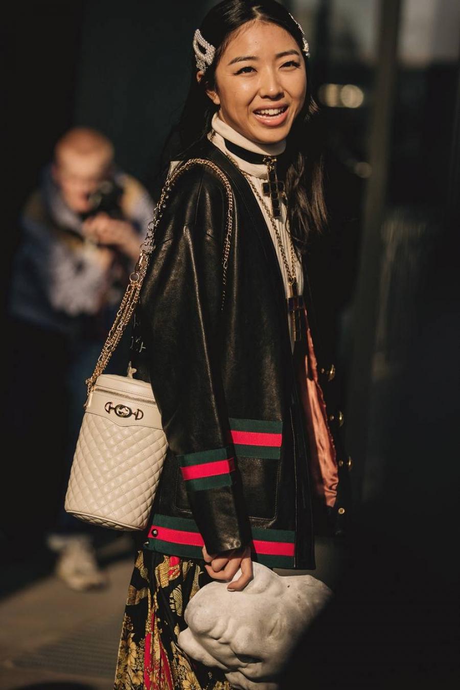 8189d7be41 Street Style απο την εβδομάδα μόδας του Μιλάνου - CityWoman