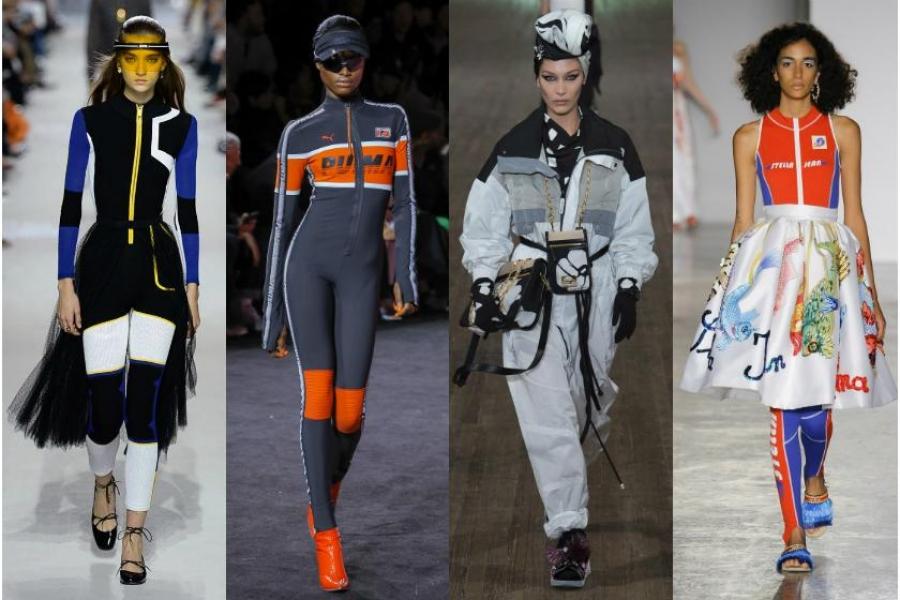 Το Sporty look είναι μια mega τάση για την νέα σεζόν