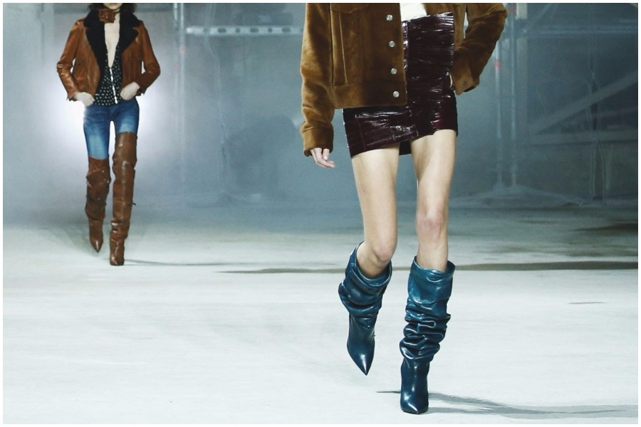 These -slouchy- boots are made for walking... Από τα 80s!