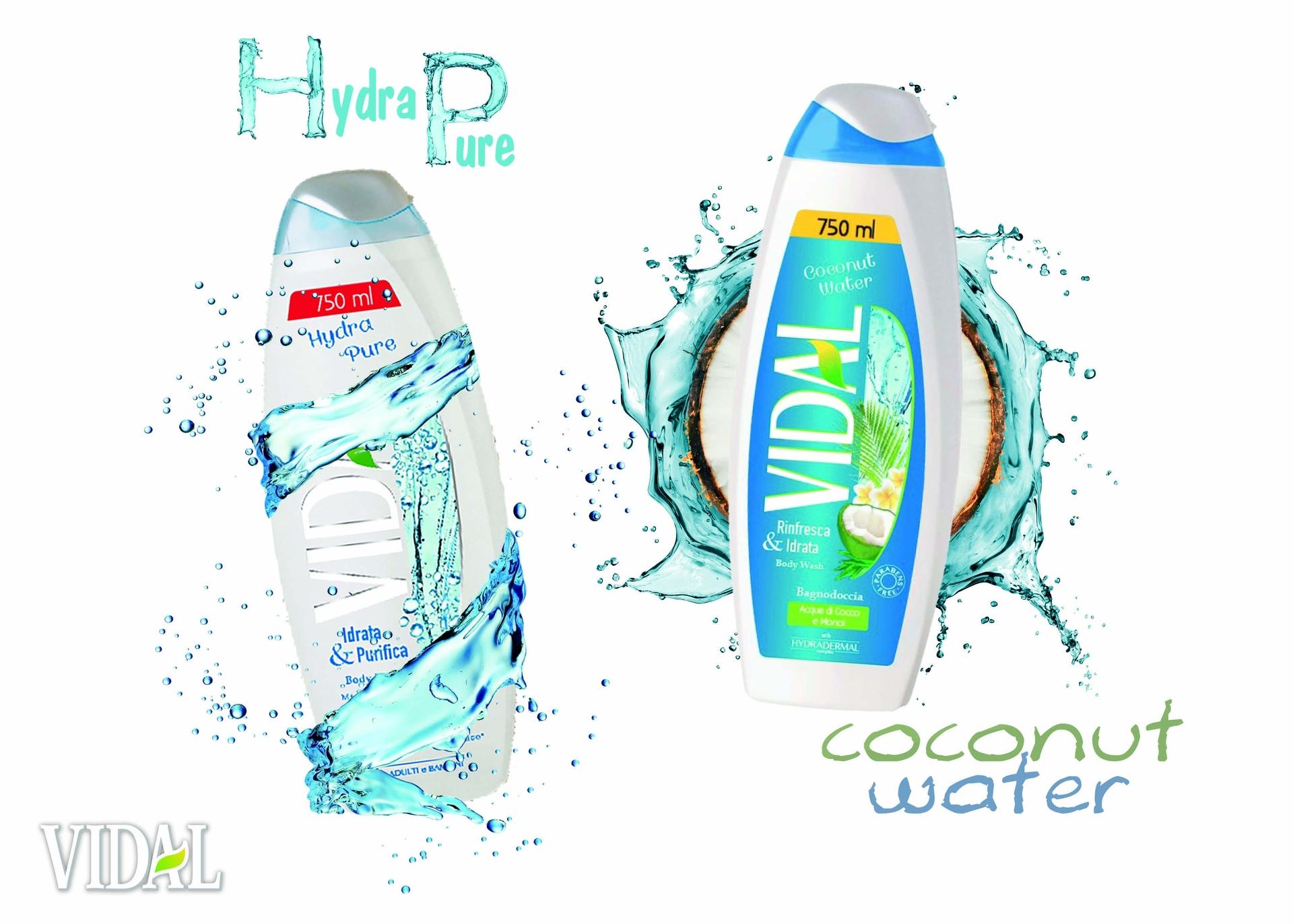 IVidal Coconut Water & Vidal Hydra Pure