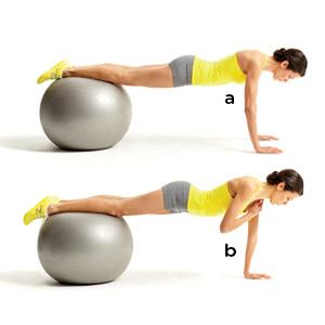 IΠώς να σμιλέψετε την κοιλιά σας με την fit ball