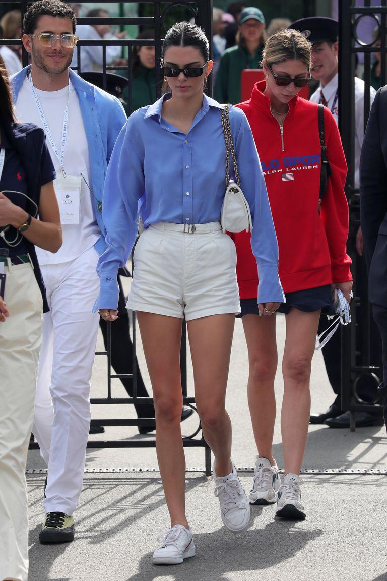 IΤι φόρεσε η Kendall Jenner στον τελικό ανδρών στο Γουίμπλεντον;